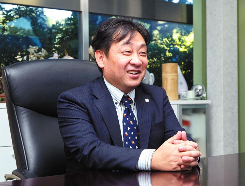 高橋建設株式会社代表取締役 高橋 宏聡